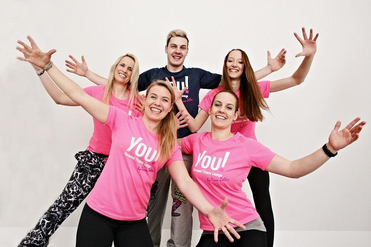 YOU! Fitnesslounge by Tina Zeller - Das Team